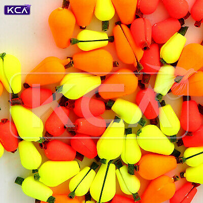 5-pcs Teardrop Strike Indicator High Visibility for Fly-Fishing