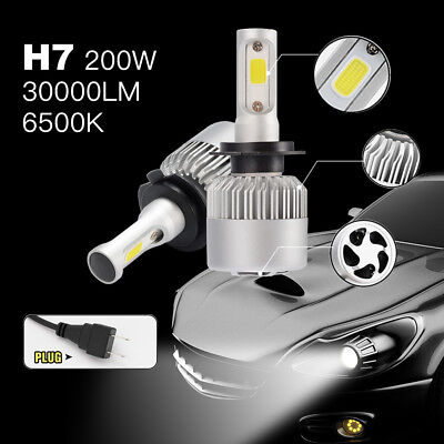 LED H7 200W 30000LM lampada CREE Headlight Kit luce LED per auto 6500K LD1033