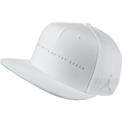 6dded6441277 NEW Nike Air Jordan 4 Men s Women s Adjustable Snapback Hat 843077 100 White