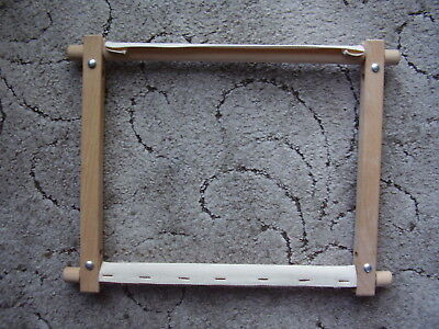 """Tapestry Frame Size 12"""" x 10.5"""" Wooden."""