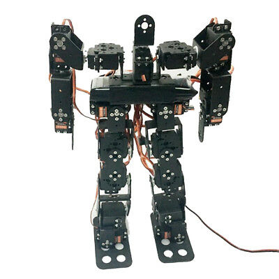 17-DOF Biped Humanoid Robot Kits with SR319 Digital Servos and Controller
