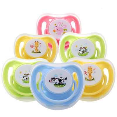 Silicone Baby Orthodontic Pacifier Dummy Infant Teat Nipple Dummy Soother Cute