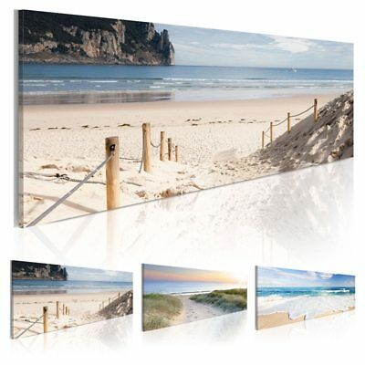 Modern Wall Art Sea Beach Scenery Canvas Painting Picture Home Decor Poster