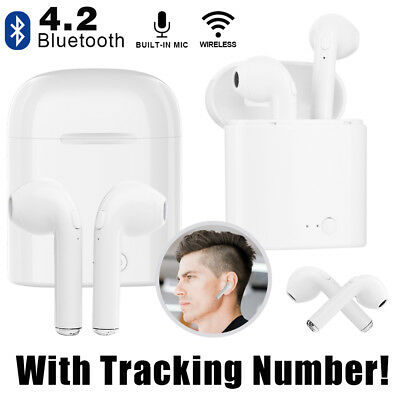 Bluetooth Headset Wireless Headphone Earbud Earphone For iPhone IPad Samsung LG