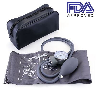 Blood Pressure Monitor Manual Sphygmomanometer Large Wide BP Cuff For Adult Use