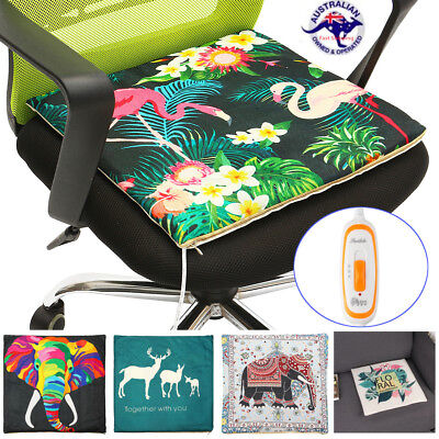 Electric Chair Heated Pad Winter Heating Mat Cushion Warmer Pet Dog Bed Blanket