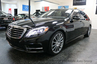 2015 Mercedes-Benz S-Class S550 SPORT PACKAGE CARFAX CERTIFIED . FULLY LOADED. MINT CONDITION. VIEW IMAGES. CALL 954-744-1177