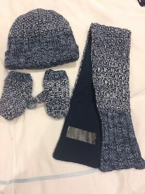 Next. Hat Gloves And Scarf Set. 3-4. Blue