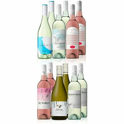 RRP$319 Premium AU/NZ Mixed White Wine with Margret River 5th Leg Chard 12x750ml