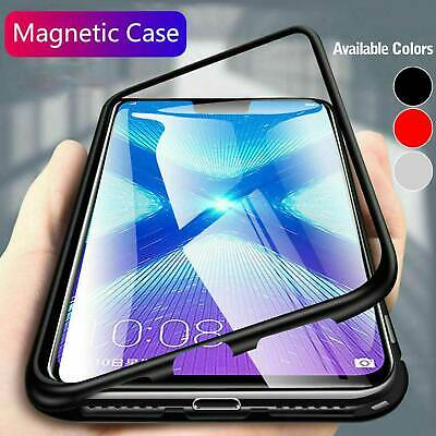 Magnetic Absorption Phone Case Metal Edge Cover For Samsung Galaxy S9