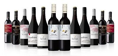 RRP $319 Premium World Mixed Reds from Margret River, Spain and NZ (12x750ml)