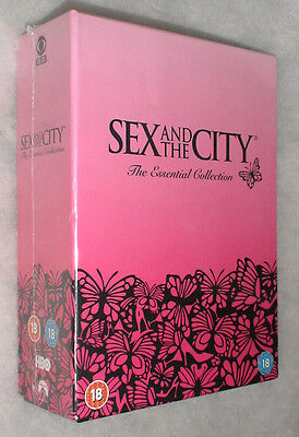 Sex And The City Serie Completa 1 a 6 Essential 19 DVD Box Set Nuevo y sin Abrir