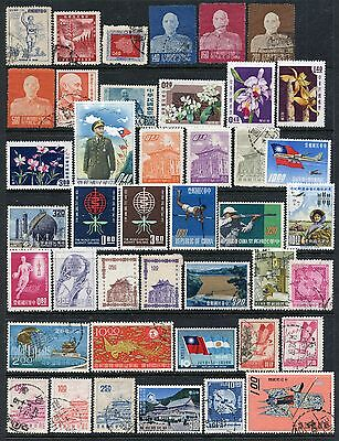 Taiwan Collection Mint & Used, Later Nh