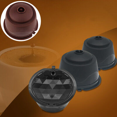 ITS- Refillable Coffee Capsule Cup Reusable Filter For Dolce Gusto Nescafe Utili