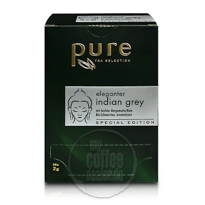 Tchibo Pure Tee Special Edition Indian Grey 4 x 25 Beutel á 2 g MHD 10.01.2019