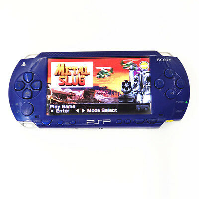 Refurbished Sony PSP-1000 Blue Handheld System PSP 1000 Game Console