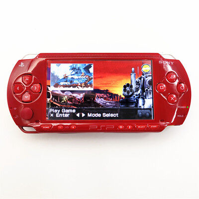Refurbished Sony PSP-1000 Red Handheld System PSP 1000 Game Console
