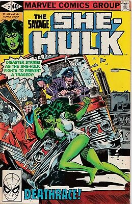 Marvel-Comic** THE SAVAGE / SHE-HULK Nr.2 ** englisch ** 1979 **