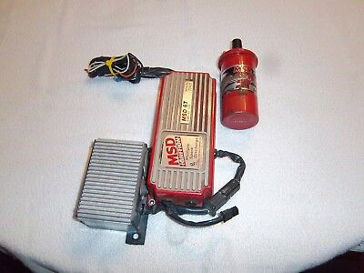 Msd Ignition Box, Soft Touch Rev Limiter, & Blaster 2 Coil
