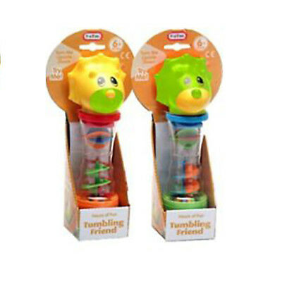 ❤️ BNIB Baby & Toddler FunTime Dinosaur Tumbling Friend Toy Rattle Shaker 6m+ ❤️