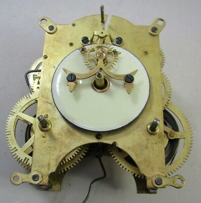 Antique Ansonia Open Escapement Mantel Clock Movement Parts Repair