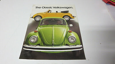 Original 1977 Volkswagen Beetle Sales Literature from my Fathers collection