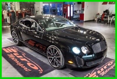 2010 Bentley Continental GT SUPERSPORTS W/ RARE REAR SEATING ONLY $900 PER MO. BLACK OVER BLACK SUEDE HIDES WITH FULL SEATING VERY RARE OVER $273K NEW!!!