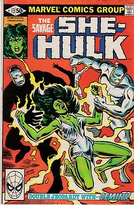 Marvel-Comic** THE SAVAGE / SHE-HULK Nr.12 ** englisch ** 1980 **