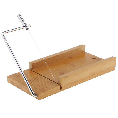 Wooden Soap Cutter Tool Handmade Soap Making Cutting Tools with Wire Slicer