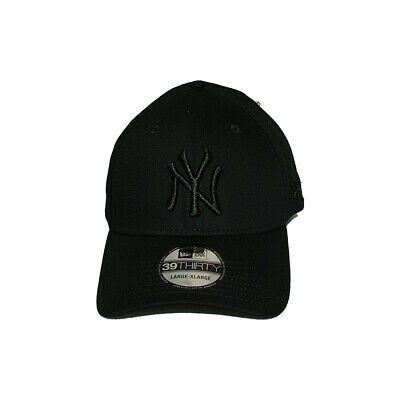 New Era MLB Curved Cap New York Yankees Basic black on black | 39THIRTY