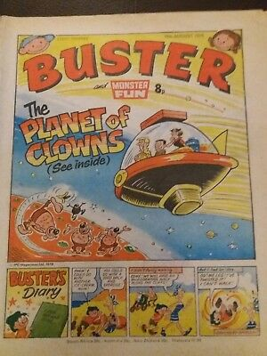 Buster  and Monster Fun COMIC (19th August 1978)