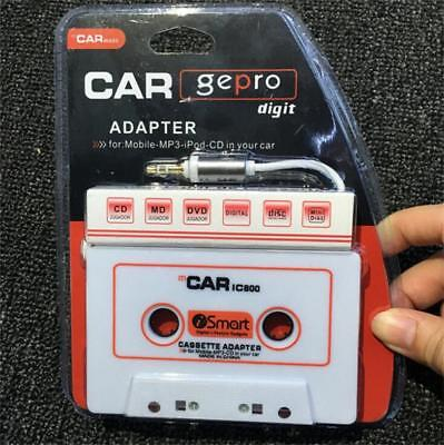 3.5mm AUX Car Audio Cassette Tape Adapter Transmitters for MP3 for iPhone YT8