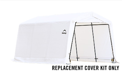 ShelterLogic Replacement Cover Kit 21.5oz 10x15x8 805454 90526 for 62681 68217