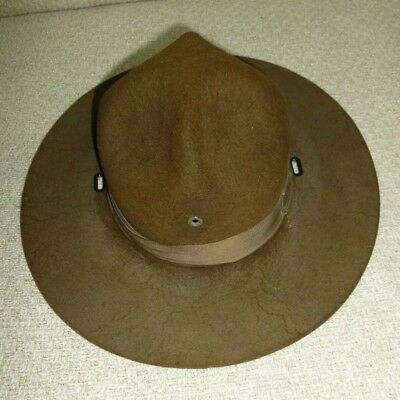 Old Vintage Hat Boy Scout ? or Army Cavalry WWI Era Smokey the Bear Ranger Style