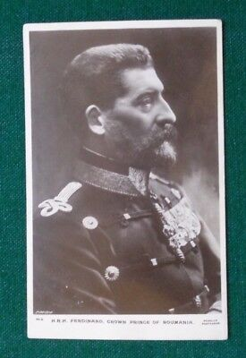 Antique Royal Postcard Crown Prince later King Ferdinand of Romania