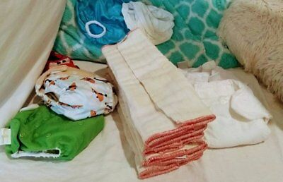 Used Cloth Diaper Lot. Cloth Diapers clotheez. Thirsties. Used Cloth diapers.