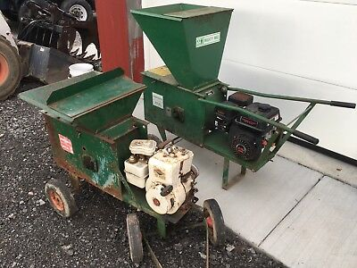 2 Mackissic Mighty Mac Shredders Composters Chippers