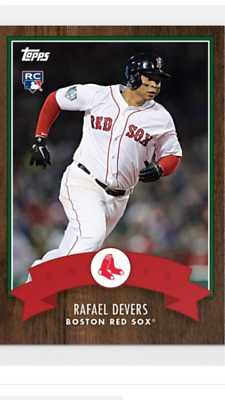 2018 Topps Holiday Advent Calendar Rookie Card Boston Red Sox Rafael Devers #13
