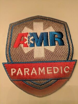 American Medical Response - Amr - Paramedic Shoulder Patch