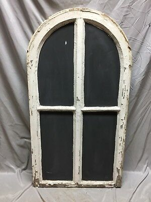 Antique Arched Blackboard Window Sash Shabby Vintage Old Chic 25X47 570-18C