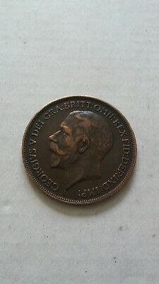 1916 Great Britian One Penny