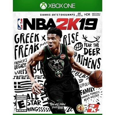 Nba 2K19 | Xbox One Game | Factory Sealed