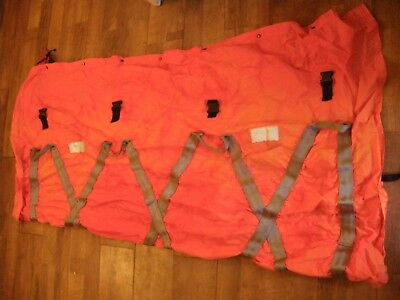 Extrication stretcher, Emergency, straps, carrying handles hi vis 2 outer