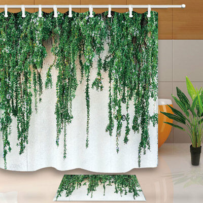 Beautiful Nature In The City Curtain Shower Bathroom Decor Fabric 12hooks New