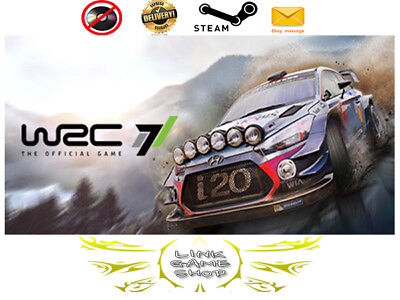 WRC 7 FIA World Rally Championship PC Digital STEAM KEY - Region Free