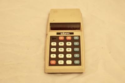 Vintage Commodore 776M Electronic Calculator Working 1976 Mains Battery UK CBM