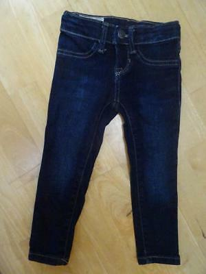 RALPH LAUREN POLO baby girls denim aubrie leggings skinny jeans AGE 18-24 / 2 Y