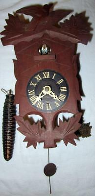 Triberg Black Forest, Faller Sohne Cuckoo Clock, Missing 1 Chain And Weight