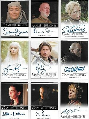 Game of Thrones Season 2 Two Master Set 2013 with Trading Card Album (Binder)