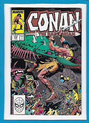 Conan The Barbarian #212_November 1988_Very Fine_Marvel Sword And Sorcery!